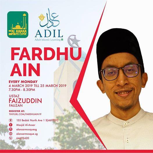 ADIL 2019 Fardhu Ain Basics