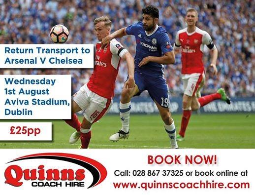 Arsenal V Chelsea - Dublin 2018