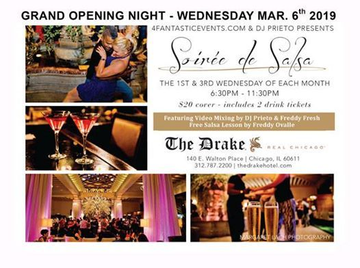 Grand Opening 2019 - Soire de Salsa at The Drake Hotel