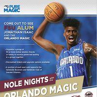 Noles Nights with the Orlando Magic (Celtics Game)