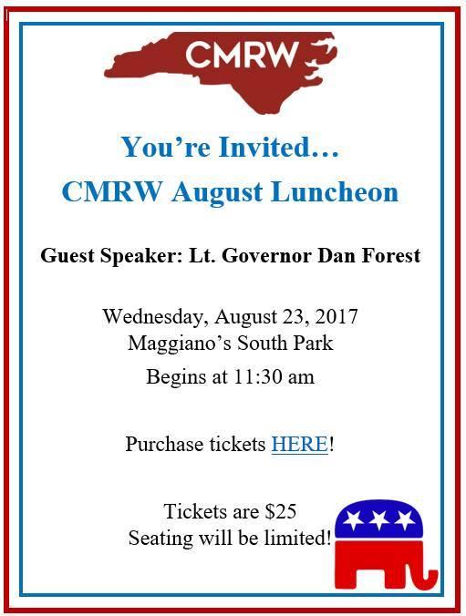 CMRW August Luncheon