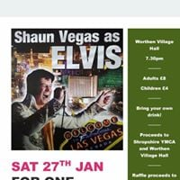 Shaun Vegas as Elvis - Tribute