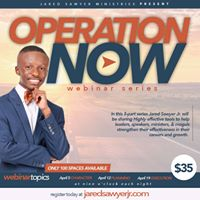 Operation NOW Webinar Series