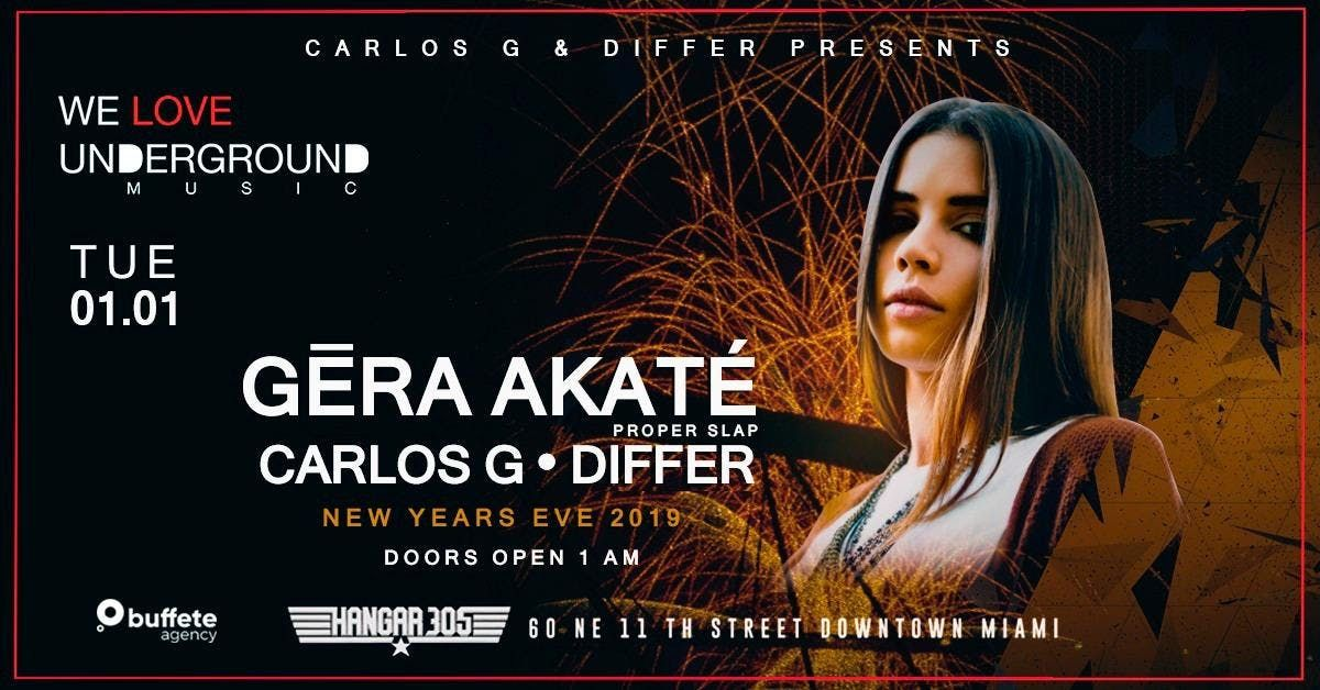 NEW YEARS EVE  GERA AKATE - differ - carlos g