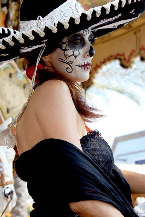 Fiesta Charra De La Catrina Fest Mx 2015 Del Día De Muertos Unión