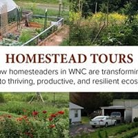 April Homestead Tour in West Asheville