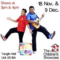 TOY BOX SHOW at The Childrens Showcase Tanglin Mall Shop