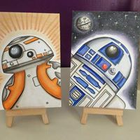 Star Wars family paint