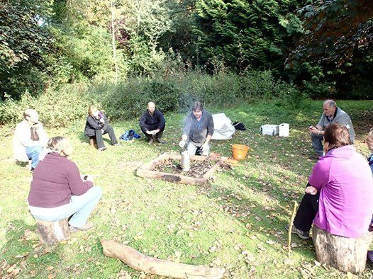 Forest School Level 3 training at The Wolseley Centre