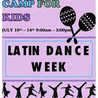 Latin Dance Summer Camp