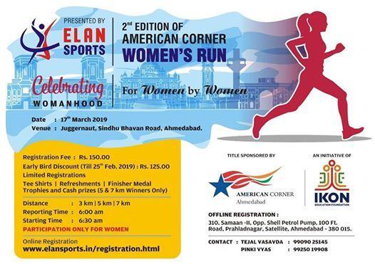 American Corner Ahmedabad Womens Run