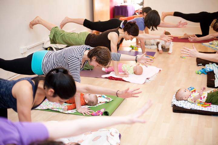 Mommy & Baby Yoga with Mariko Crafton