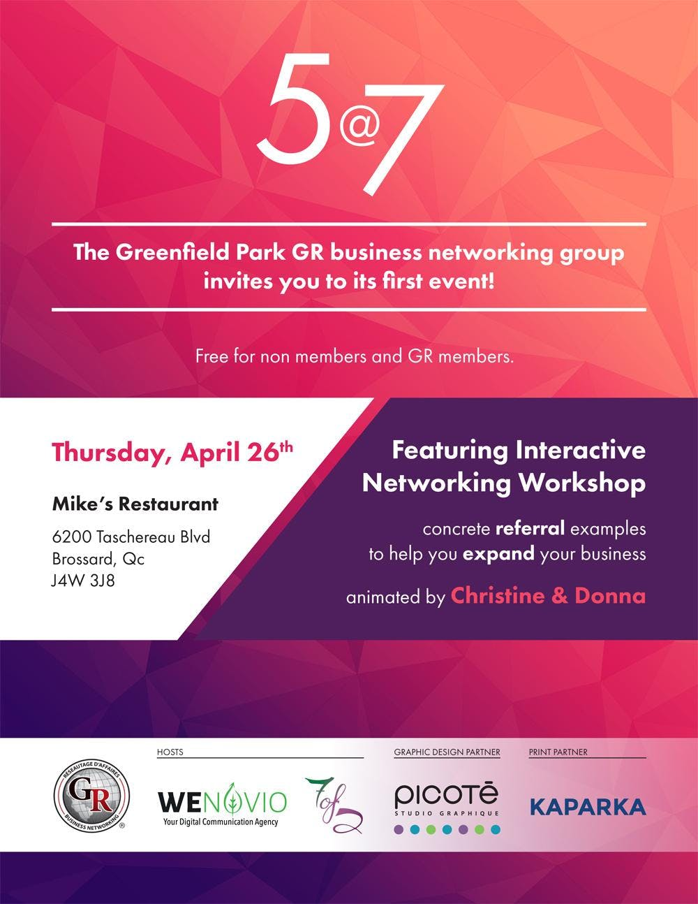 The Greenfield Park GR Business Networking 57