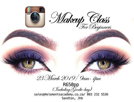 Instagram Makeup Workshop at Sandton, Gauteng, Sandton
