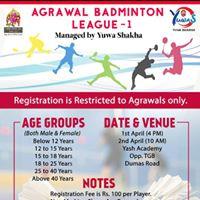 Agrawal Badminton League