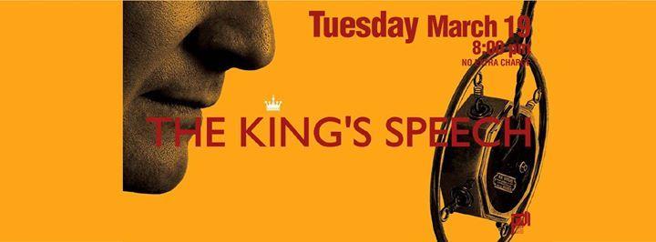 Movie Night at Aleph B  The Kings Speech