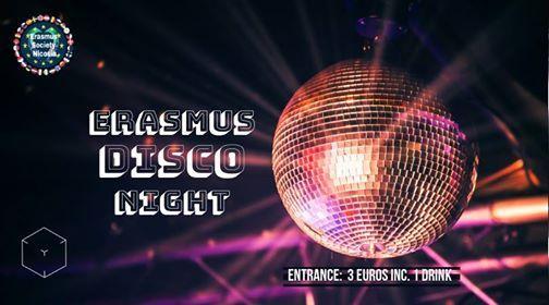 Erasmus Disco Night - (3 Euros including one drink)