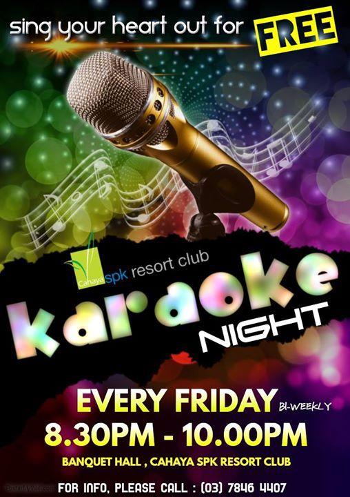 Cahaya SPK Resort Clubs Free Karaoke Night