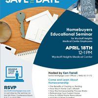 Homebuyers Educational Seminar