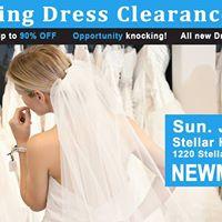 Newmarket Pop Up Wedding Dress Sale