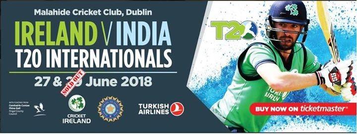 T20 International Ireland -V- India PrePost Party