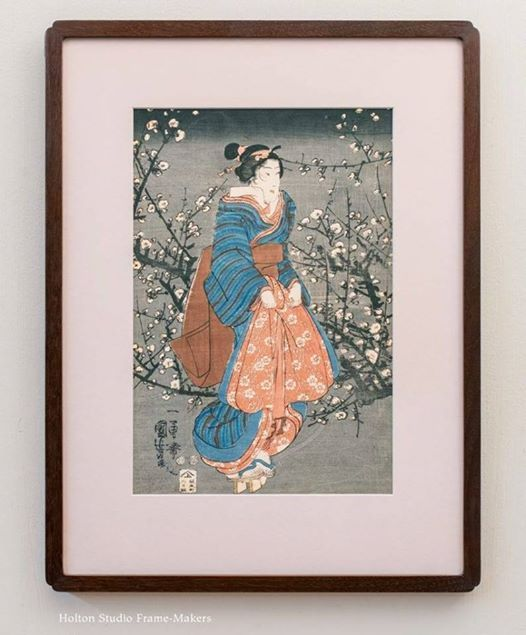 A Frame-Makers Approach to Framing Japanese Prints