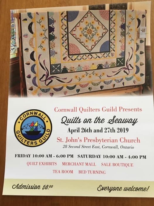 Quilts on the Seaway 2019