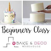 Beginners Cake Class - FEB 2018
