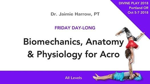Biomechanics Anatomy And Physiology For Acro At Oregon Convention