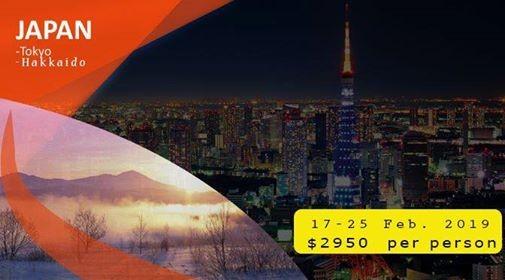 Experience Japan with Tokyo and Hokkaido