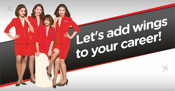 AirAsia Cabin Crew Recruitment - Ahmedabad