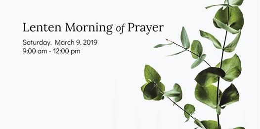 Lenten Morning of Prayer