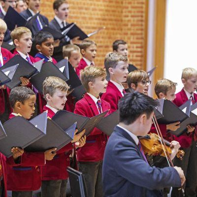 The Choir of Kings College School Wimbledon