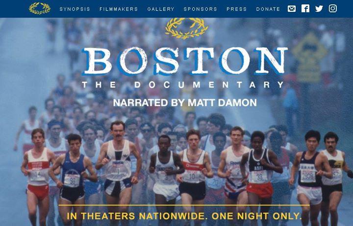 Boston Marathon Film Screening