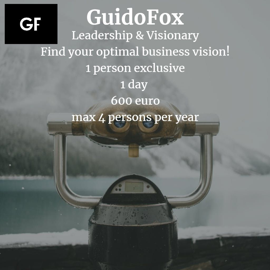Leadership & Visionary - Find your optimal business vision in one day