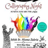 Night of Calligraphy