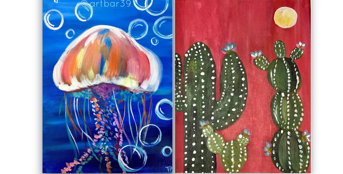 Wadena Kids Painting 6th - 12th grade  Art Bar 39