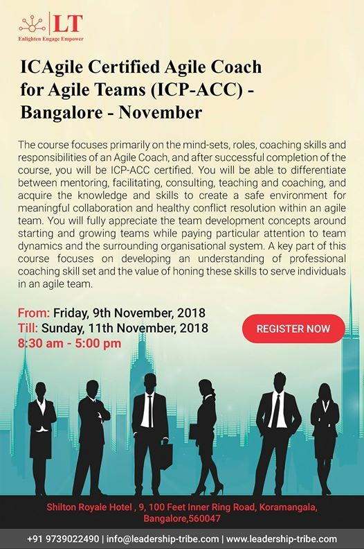 Certified Agile Coach - Icp-Acc
