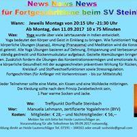 Yoga beim SV Steinbach