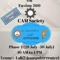 Fusion 360 workshop