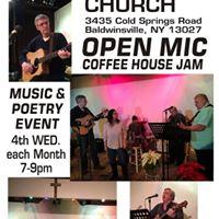 Open Mic Jam Session at Cornerstone