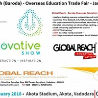 Global Reach - Baroda Overseas Education Exhibition 2018