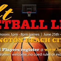Sunday Indoor Basketball Huntington Beach Summer Season