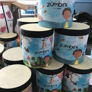 Zumbini x6 wks - Kalino finds the music