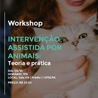 Workshop Interveno Assistida por Animais (IAAs)