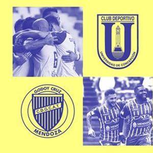 Copa Libertadores  UdeC vs Godoy Cruz (ARG)