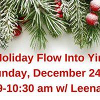Holiday Flow Into Yin w Leena