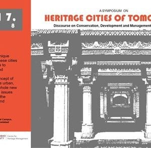 A symposium on Heritage Cities of Tomorrow by ICOMOS India