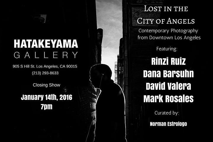 Hatakeyama Gallerys LAST Exhibit Lost in the City of Angels