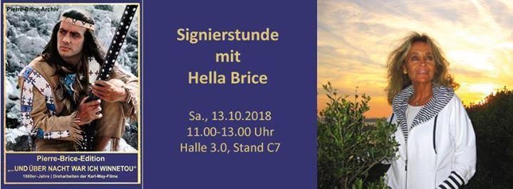Signierstunde mit Hella Brice